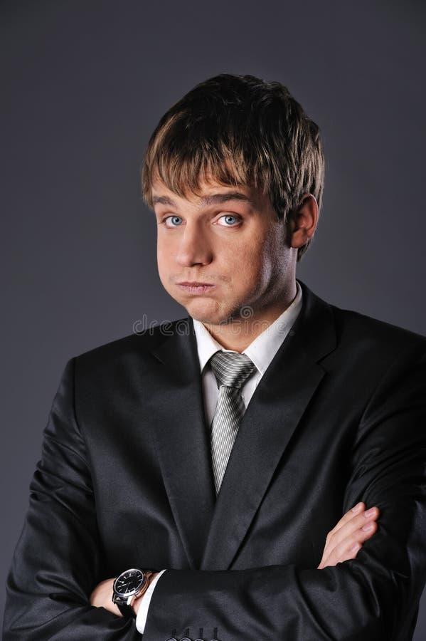 funny busienssman stock photo