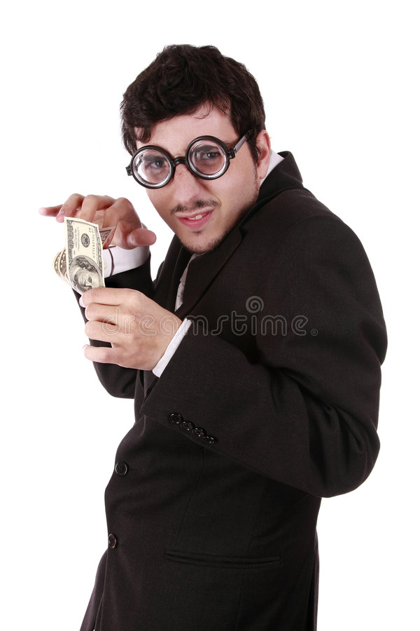Download Funny Business Man Stock Photo - Image: 8664510