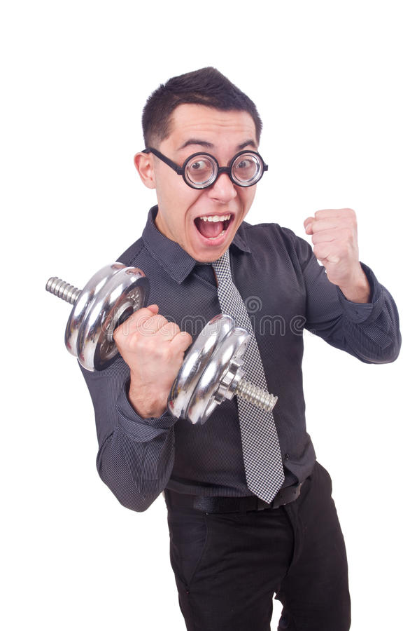Download Funny businessman stock image. Image of healthy, heavy - 36986631