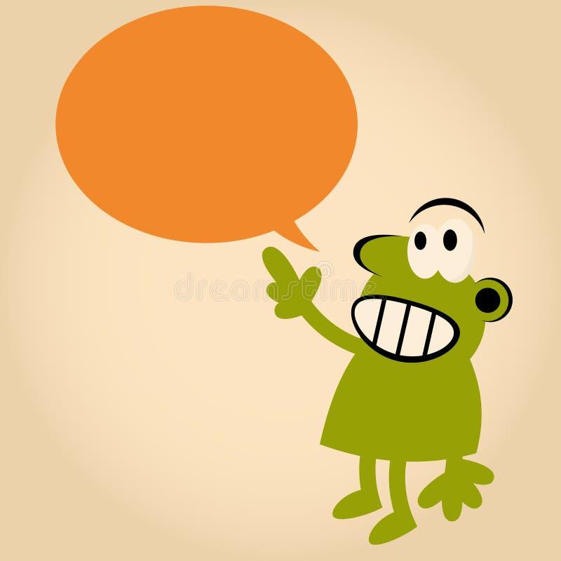 Download Funny Cartoon Man Is Speaking Stock Vector - Illustration: 24167368