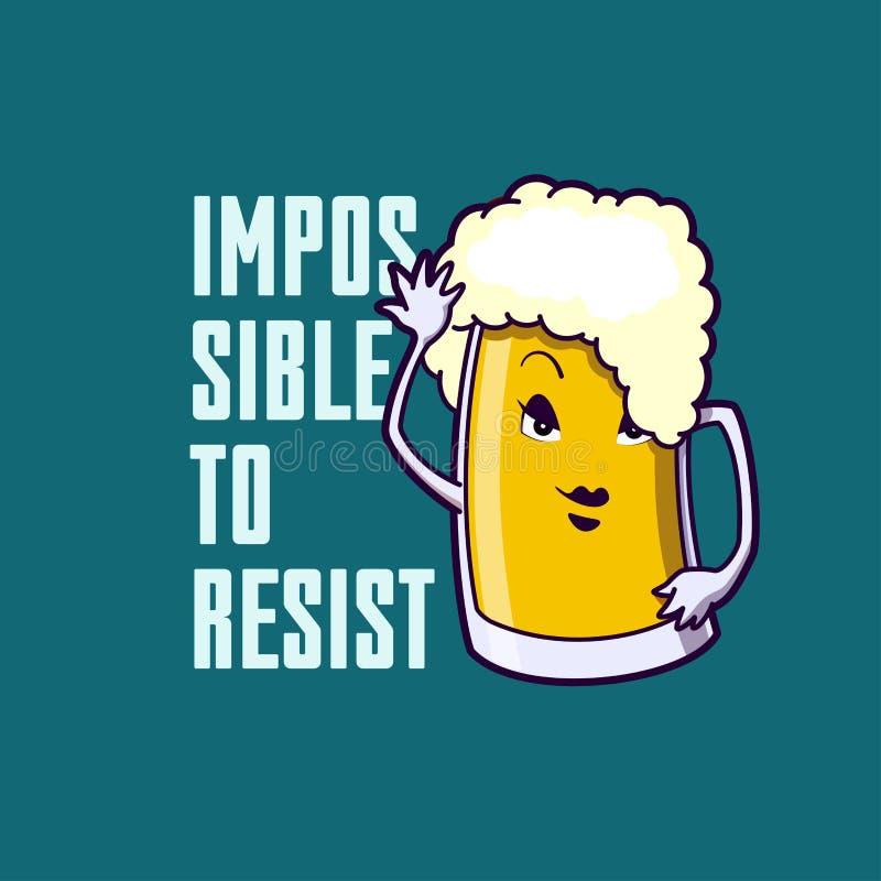 Funny cartoon mug stock photos