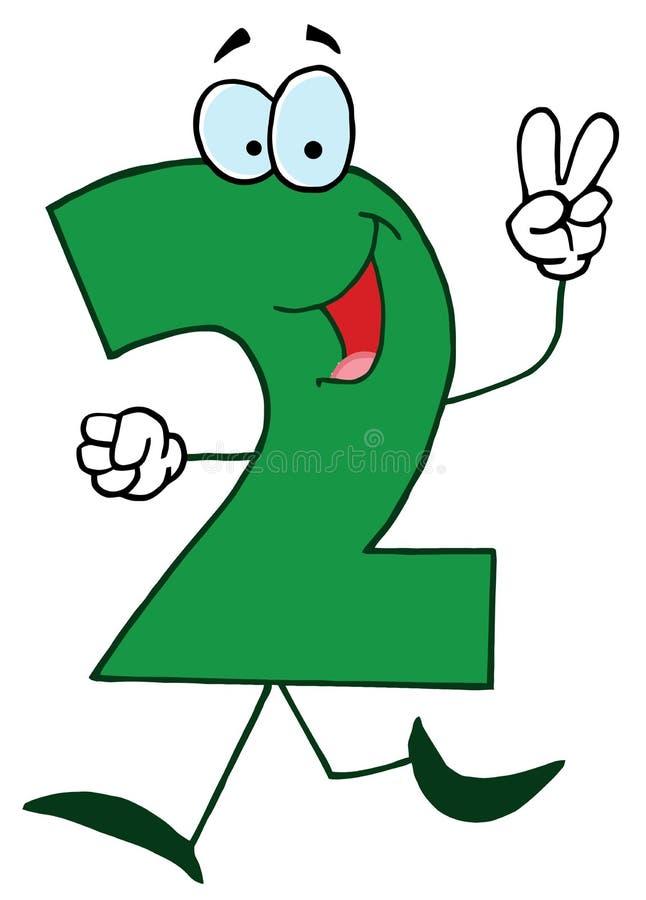 Download Funny Cartoon Numbers-2 stock vector. Image of mathematics - 13023128