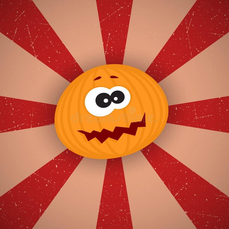 Funny Cartoon Pumpkin stock photo