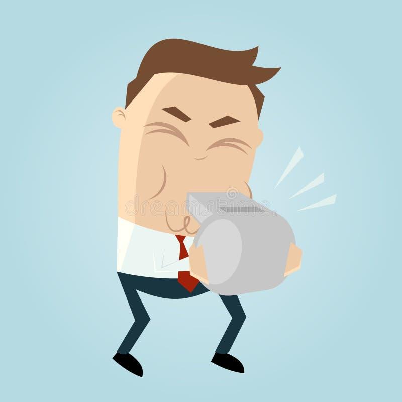 Download Funny Cartoon Whistleblower Stock Vector - Image: 32005232