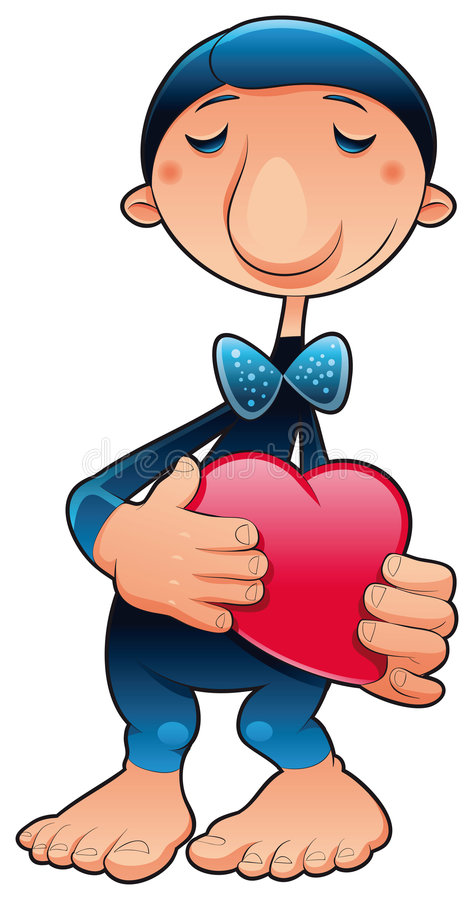 Free Funny Character In Love Stock Photography - 8532572