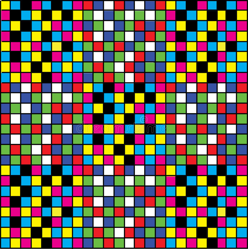 Free Funny Checkered Background Stock Image - 19795161