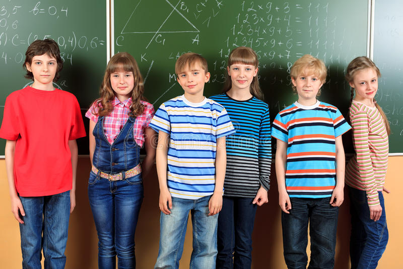 Download Funny classroom stock image. Image of children, group - 34905165