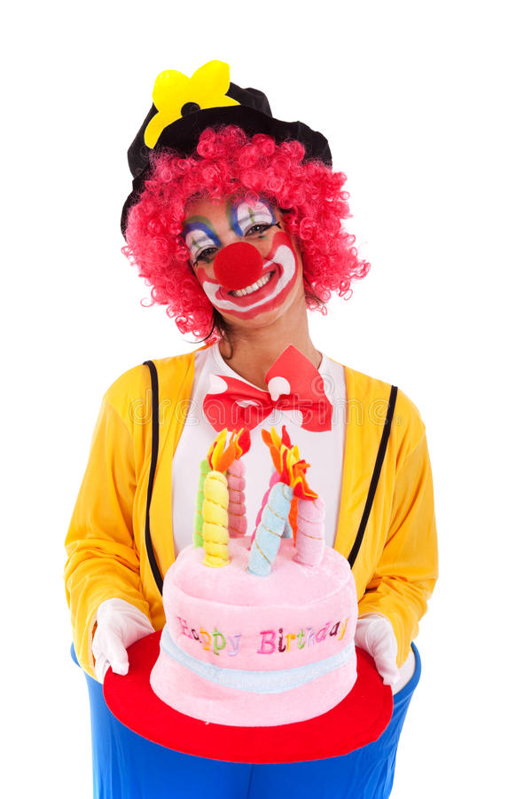 Funny clown stock images
