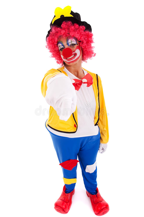 Download Funny clown stock image. Image of color, funny, feather - 12995799