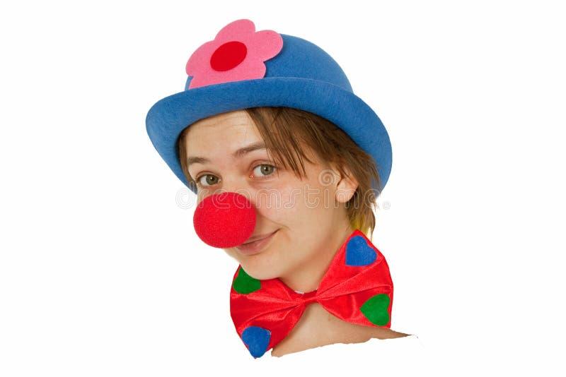 Download Funny Clown stock image. Image of prankster, emotion - 18583607