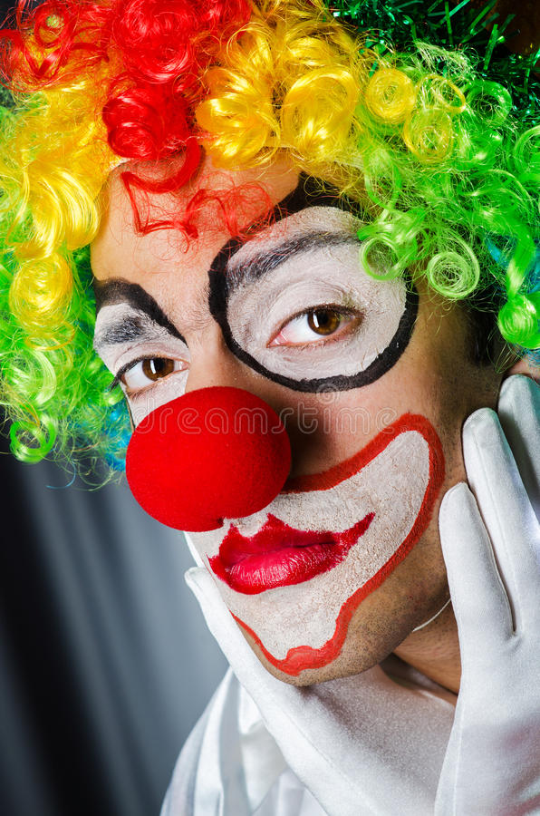 Download Funny clown stock image. Image of happy, funny, happiness - 28785091