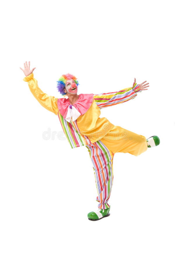 Download Funny clown stock image. Image of party, circus, humor - 7655023