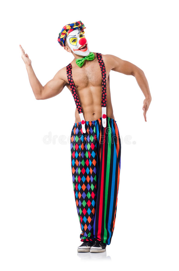 Download Funny clown stock photo. Image of humor, occupation, funny - 33222988