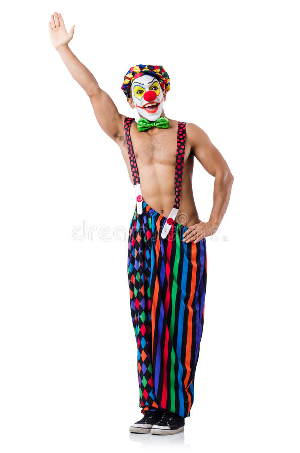 Download Funny clown stock photo. Image of holiday, humor, person - 34468994