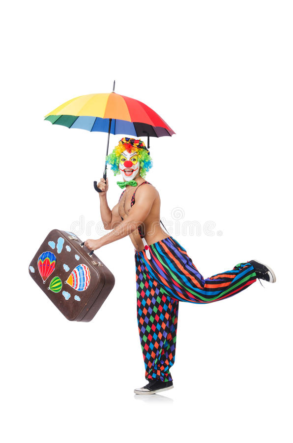 Download Funny clown stock photo. Image of dressed, party, happy - 34469012