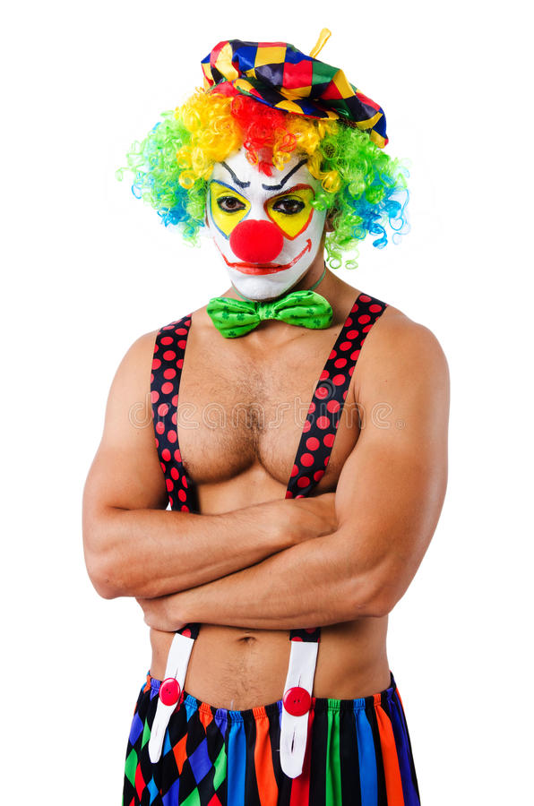 Download Funny clown stock image. Image of character, birthday - 34469079