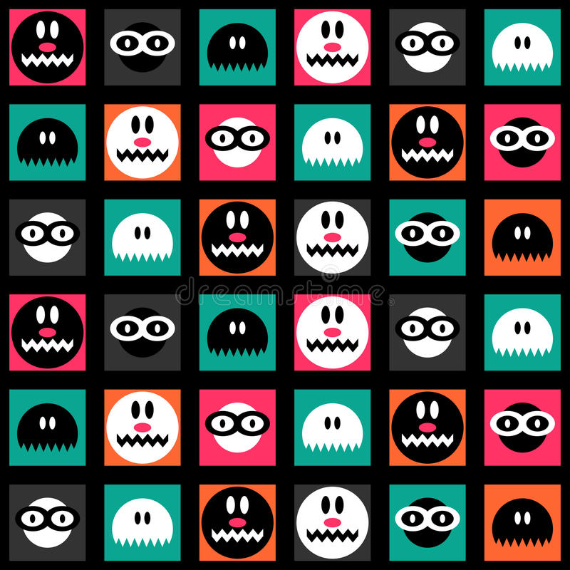 Download Funny Colorful Seamless Background Stock Vector - Image: 28537886