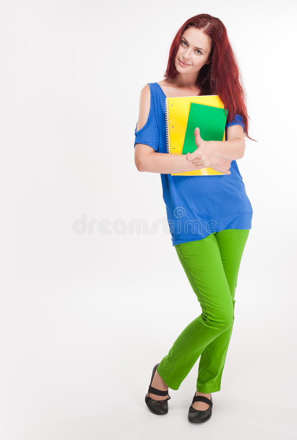 Download Funny Colorful Young Student. Stock Photo - Image: 33398956