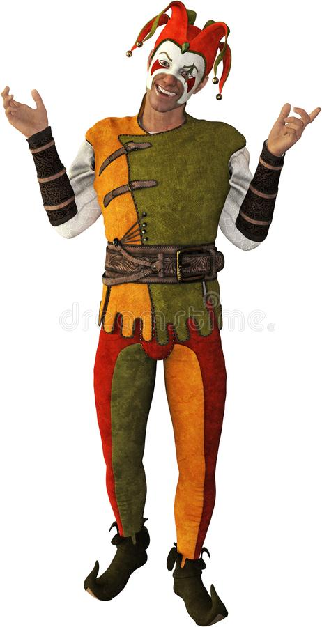 Free Funny Court Jester, Comedy, Isolated Royalty Free Stock Photography - 129374667
