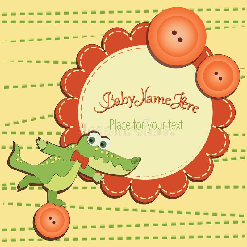 Funny crocodile on the button stock vector illustration of download funny crocodile on the button stock vector illustration of crocolil bright m4hsunfo