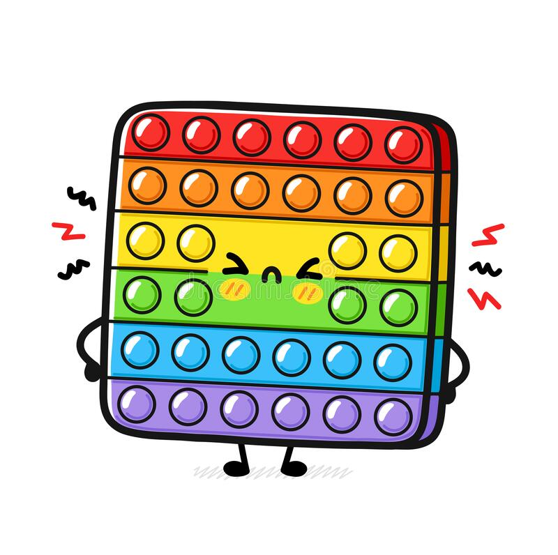 Free Funny Cute Vector Cartoon Illustration Icon Stock Images - 221335854