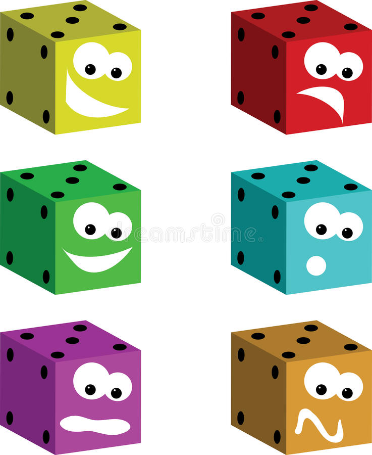 Download Funny Dice Royalty Free Stock Image - Image: 10751536