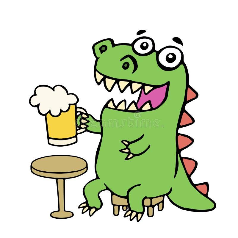 Cartoon Funny Dinosaur Csp39684642