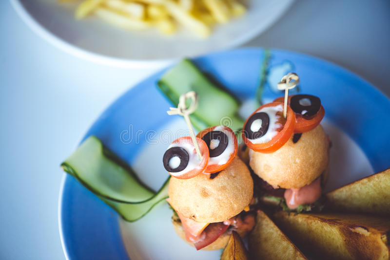 Funny dish royalty free stock photos