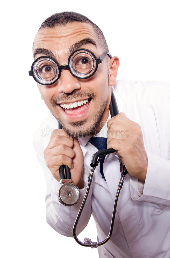 Download Funny doctor stock image. Image of assistance, care, doctor - 30095333