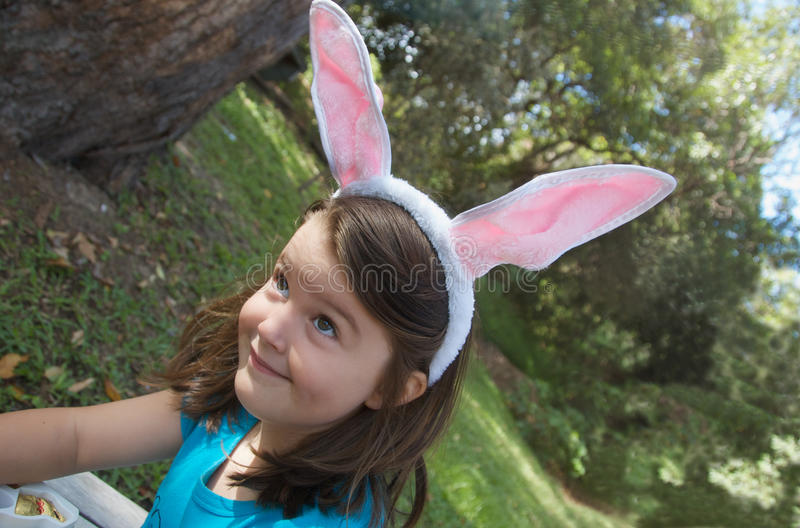 Download Funny Easter Bunny stock image. Image of caucasian, easter - 13745975