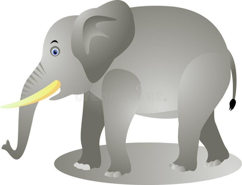 Download Funny elephant cartoon stock vector. Illustration of bishop - 23429311