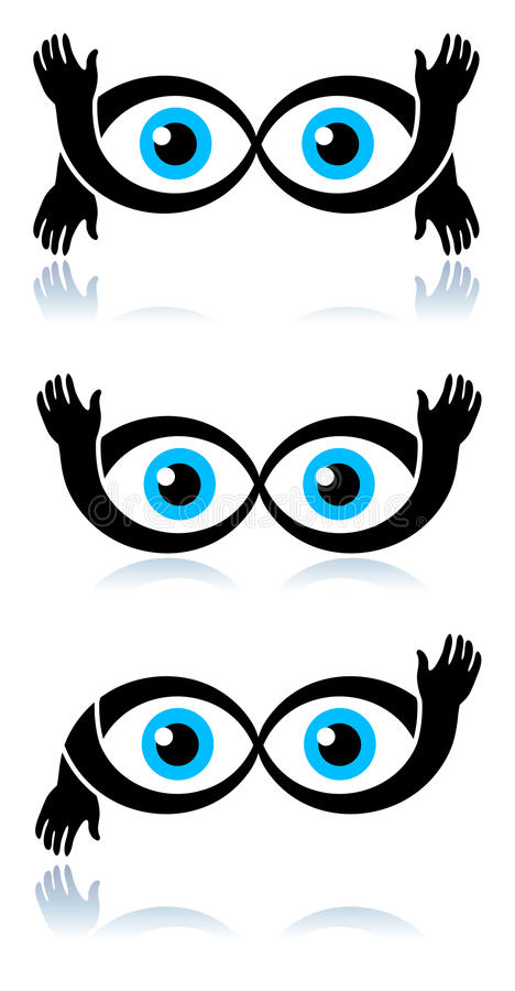 Download Funny eyes stock vector. Image of design, illustrated - 18472929