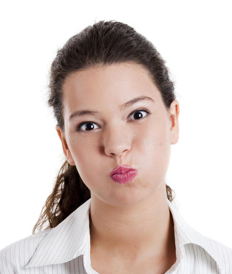 Funny face royalty free stock image