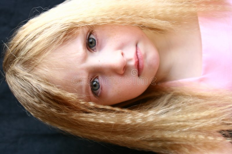 Download Funny face stock image. Image of hair, face, curly, girl - 1901049