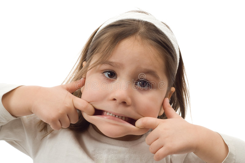 Download Funny Face stock photo. Image of cute, mouth, hands, child - 7956340