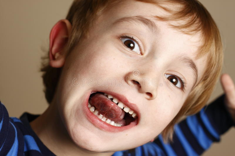 Download Funny Face Mouth stock photo. Image of diversity, mouth - 24284576
