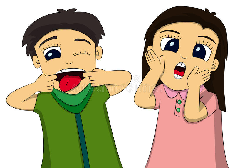 Download Funny faces stock illustration. Illustration of funny - 24007633
