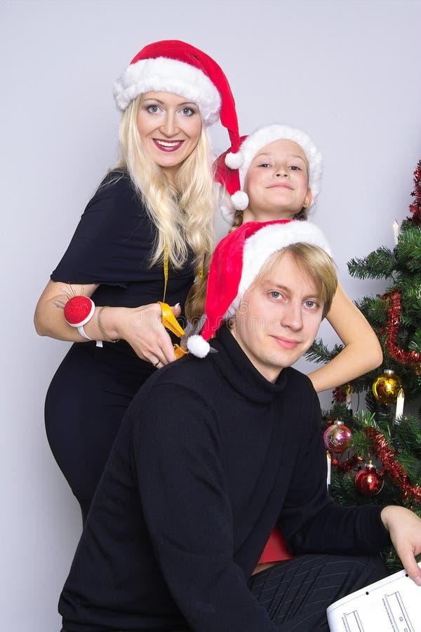 Funny family royalty free stock photo