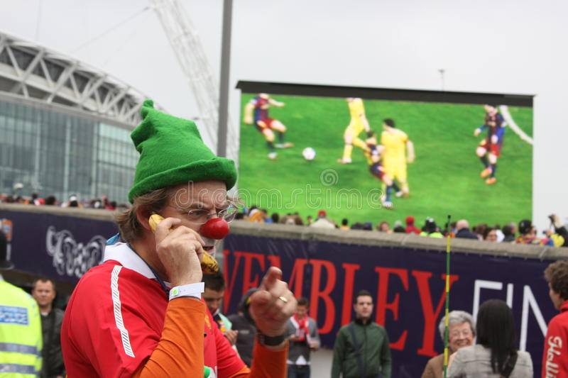 Download A Funny Fan Of Manchester United Editorial Photography - Image of fans, event: 19679357