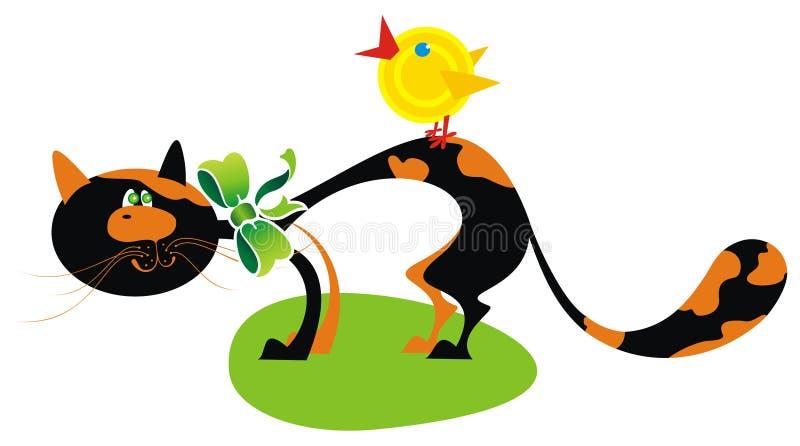 Download Funny farm animals stock illustration. Image of yellow - 9140954