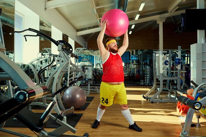690 Funny Fat Man Gym Photos Free Royalty Free Stock Photos From Dreamstime