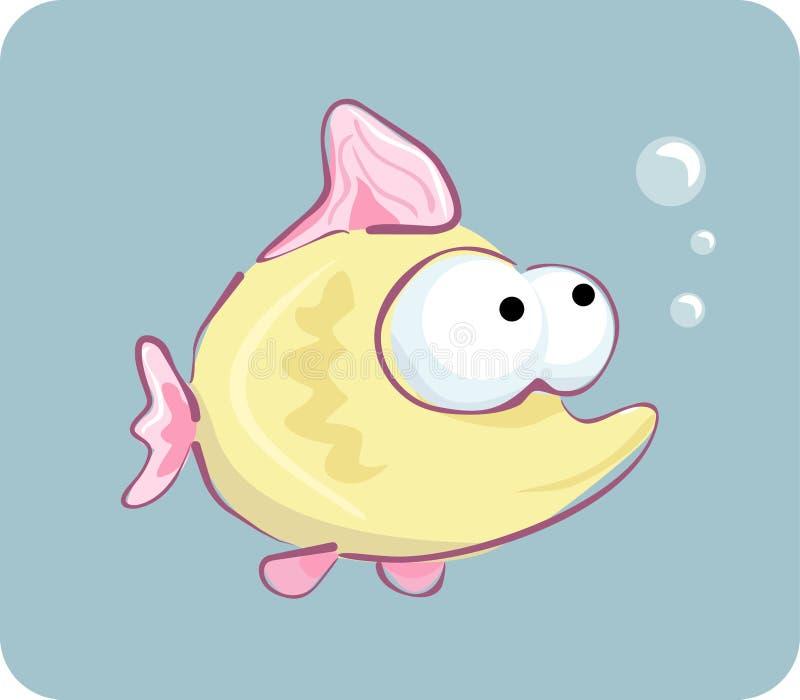 Download Funny fish stock vector. Illustration of golden, animal - 9904642
