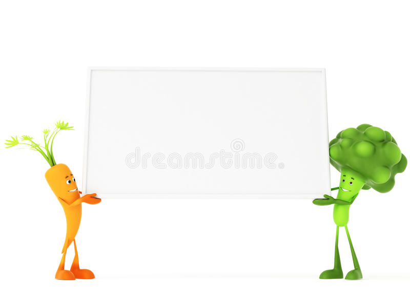Download Funny food characters stock illustration. Image of cartoonred - 24126077