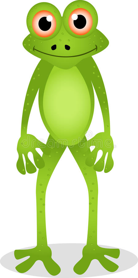 Free Funny Frog Cartoon Royalty Free Stock Image - 27048626