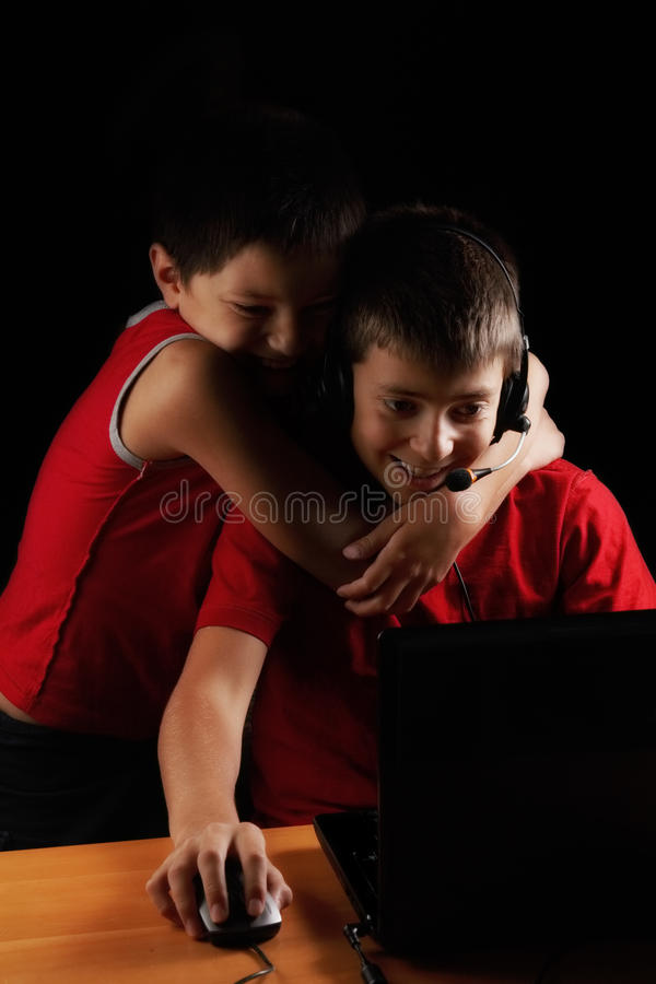 Funny game royalty free stock photo