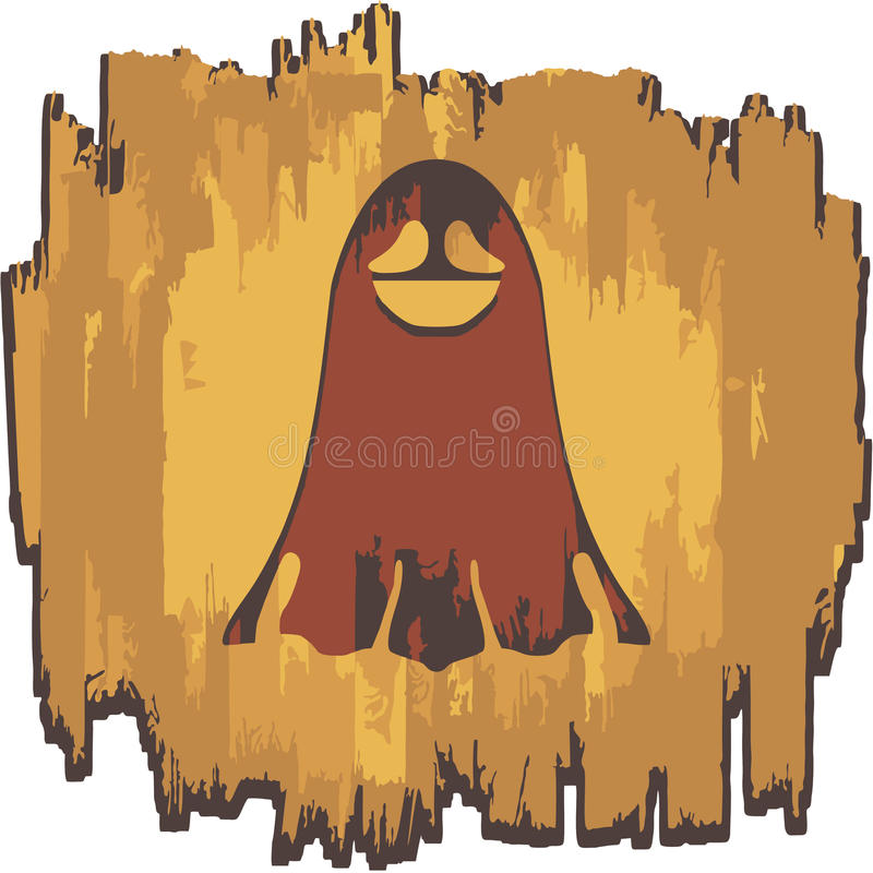 Funny Ghost royalty free stock photo