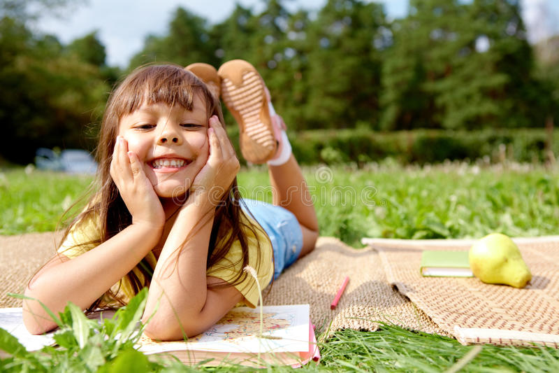 Funny girl stock images