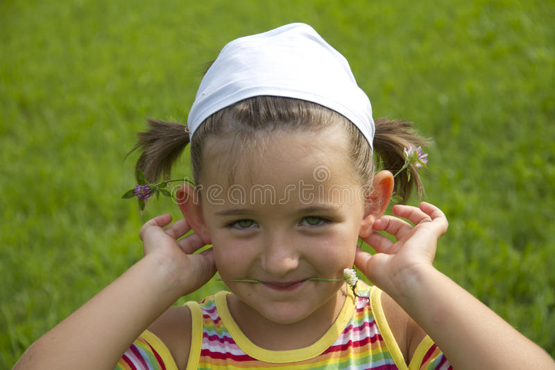 Download Funny girl stock photo. Image of child, funny, summer - 25863624