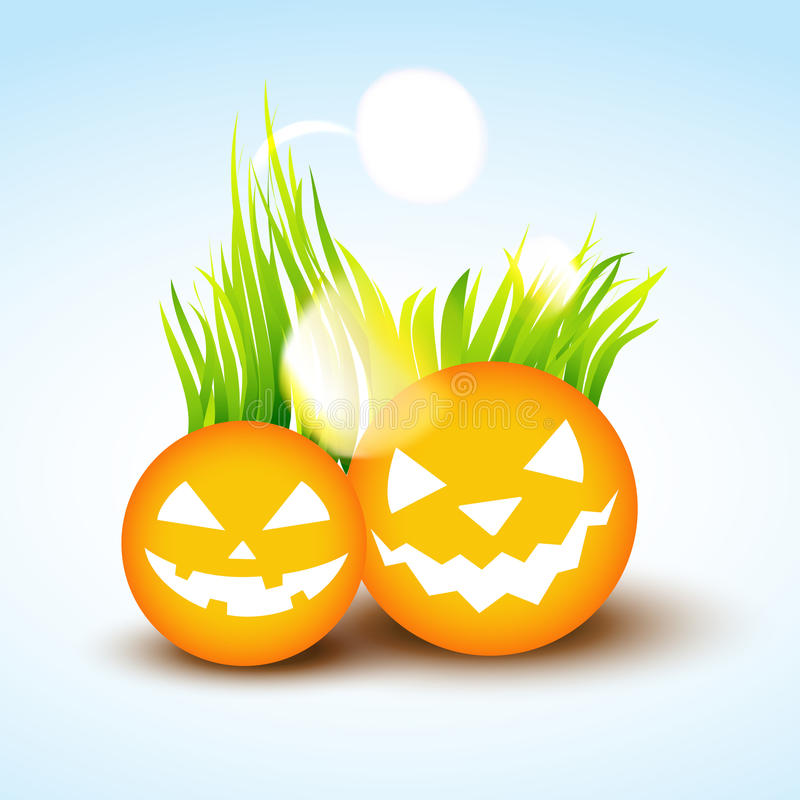 Download Funny halloween design stock vector. Image of glow, evil - 27119923