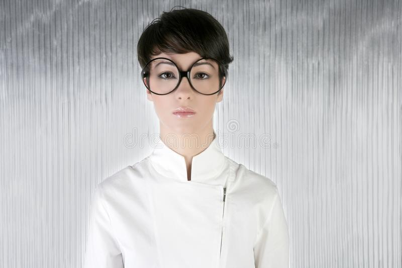 Download Funny Humor Futuristic Woman Big Glasses Stock Photo - Image: 14181394